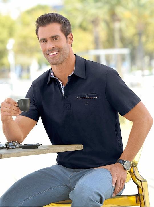Marco Donati Kurzarm-Shirt - marine