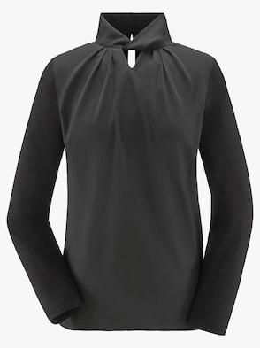 Blusenshirt - schwarz