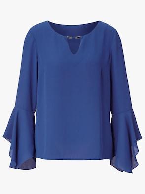 Bluse - royalblau