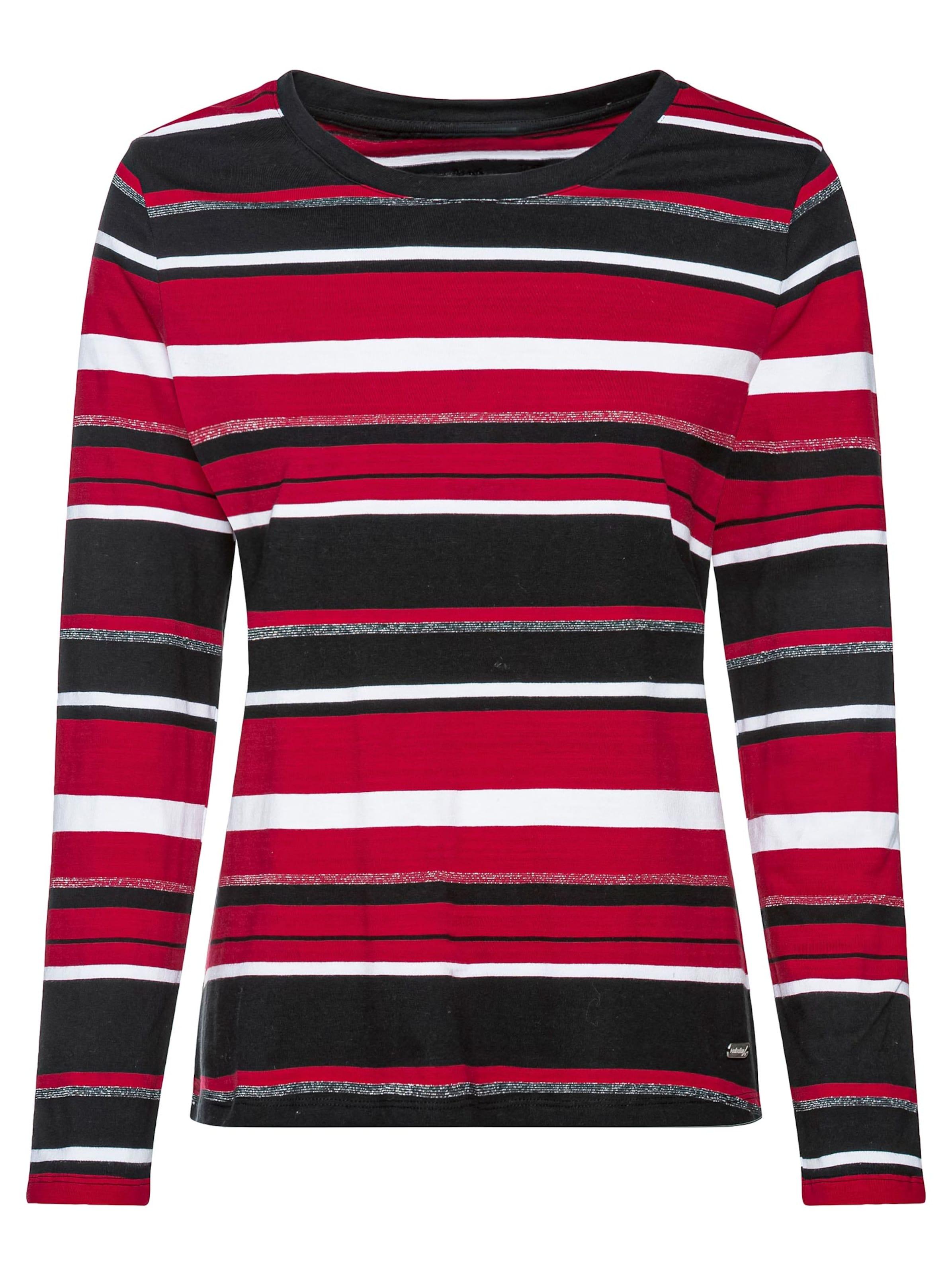 collection l - Witt Weiden Damen Shirt rot-geringelt