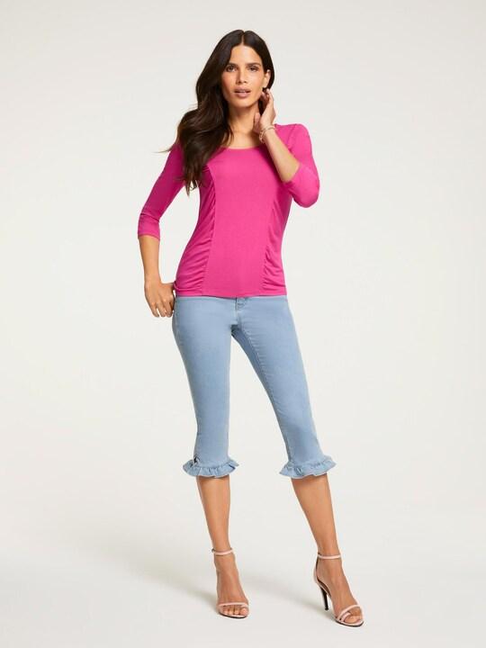 Ashley Brooke Bauchweg-Jeans - bleached