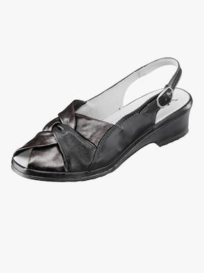 Sandalette - schwarz