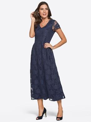Kleid - nachtblau