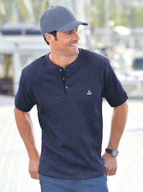 Catamaran Kurzarm-Shirt - marine