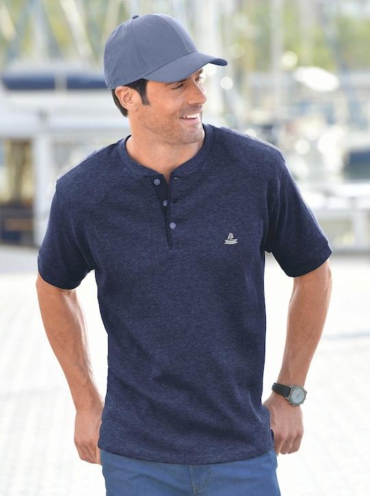 Kurzarm-Shirt - marine