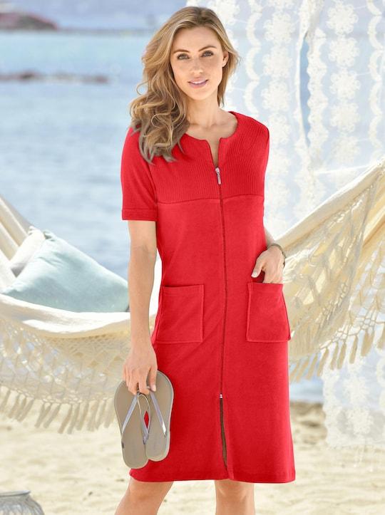 wewo fashion Badjas - rood