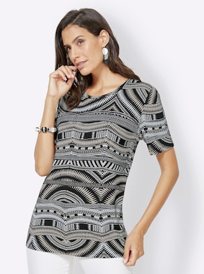 Shirt - stein-bedruckt