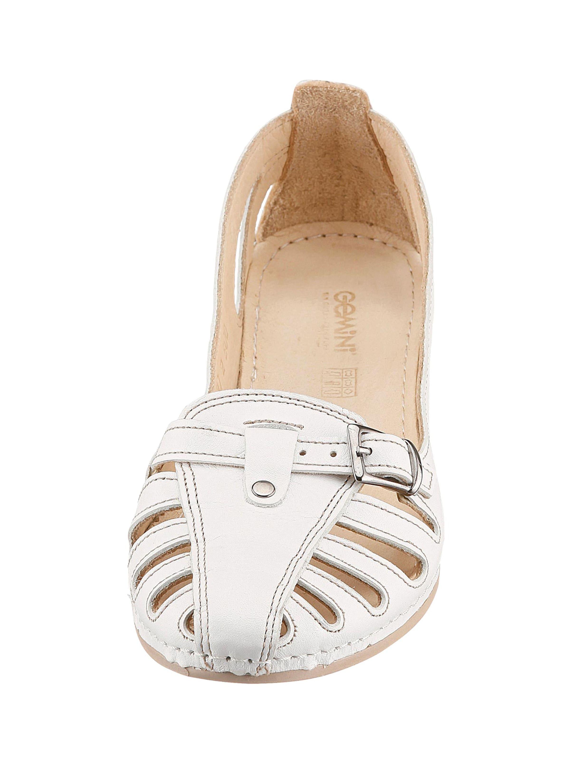 gemini - Damen Slipper weiß