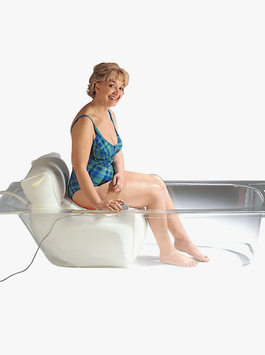 Badewannenlift - weiß