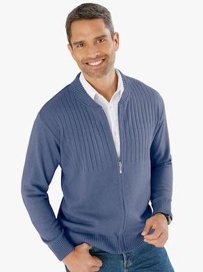 Vest - middenblauw