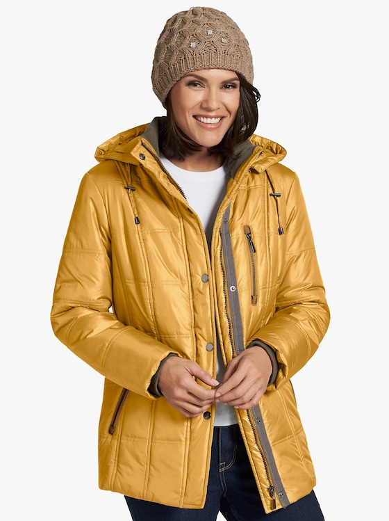 Collection L Outdoorjacke - curry
