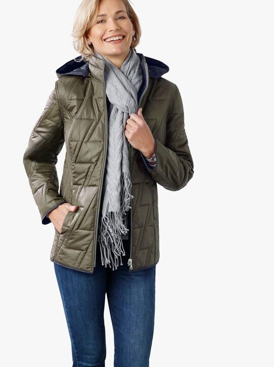 Oboustranná bunda - khaki