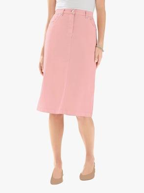 Džínová sukně - růžová