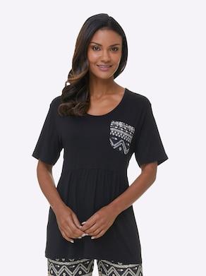 Plantier Shirt - schwarz