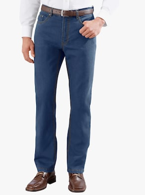 Thermo-Jeans - blue-stone-washed