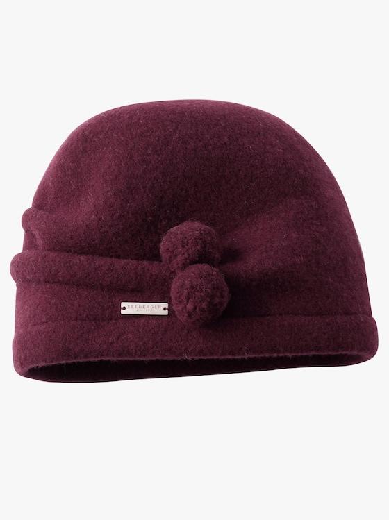 Mütze - burgund