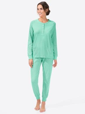 Schlafanzug - mint
