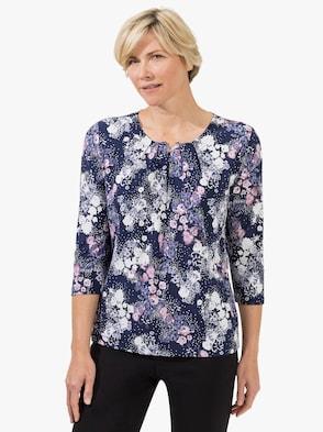 Shirt - hortensie-bedruckt
