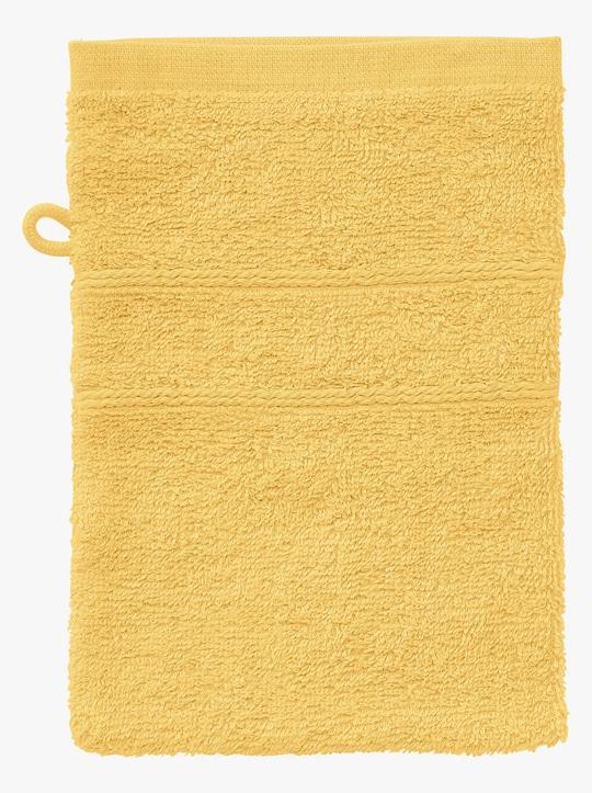 wäschepur 4-tlg. Handtuch-Sparset - gelb