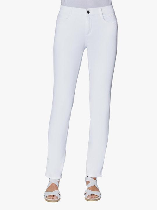 Ascari Premium-Jeans - weiß