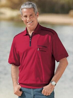 Catamaran Kurzarm-Poloshirt - rot