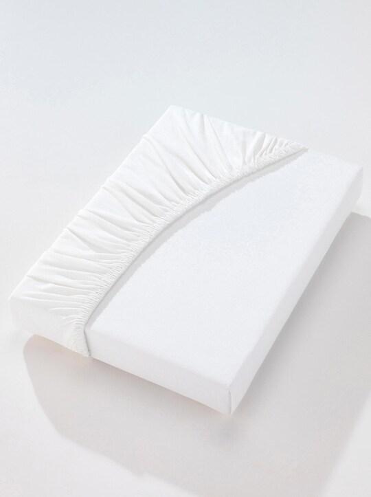 Irisette Spannbetttuch - weiß