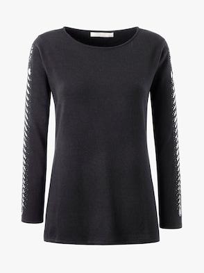 Pullover - schwarz