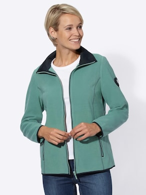 Collection L Fleece-Jacke - mint