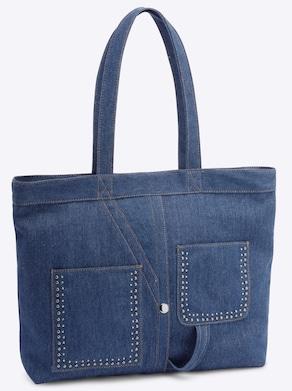 heine Tas - jeansblauw