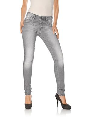 Linea Tesini Bauchweg-Jeans - grey denim