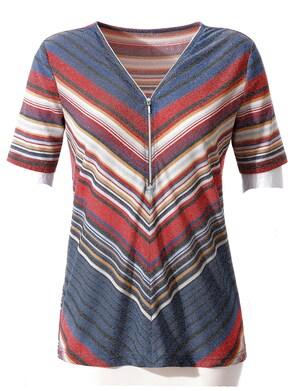 Shirt - bunt-gestreift