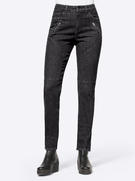 Rick Cardona Jeans - black-denim