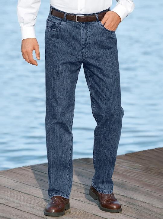 Brühl Jeans - blue-stone-washed