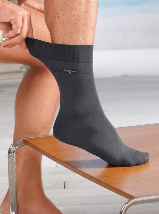 Rogo Herren-Socken - grau