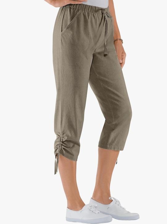 Capri-legging - kaki