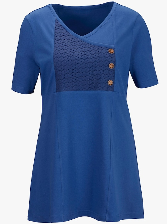 Tričko - modrá