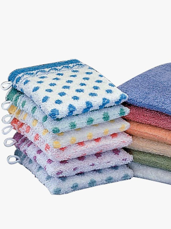 Ross Waschhandschuhe - sortiert