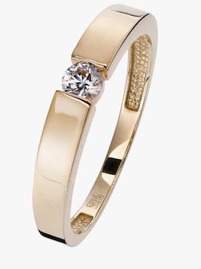 Ring - vergoldet