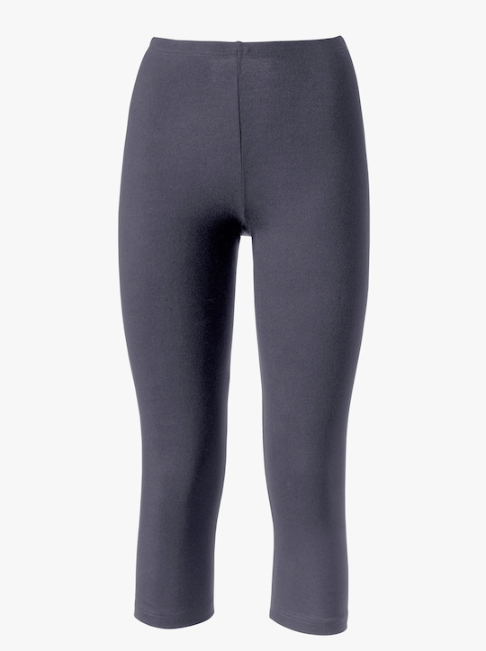 wäschepur 3/4-legging - grijs