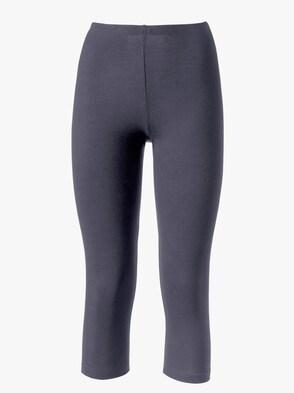 Leggings 3/4-lang - grau