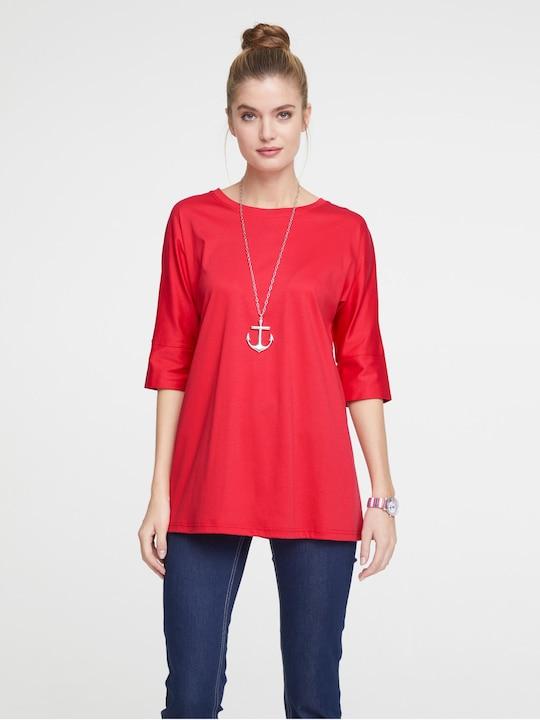 Linea Tesini Longshirt - rot