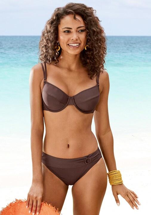 s.Oliver Bügel-Bikini-Top - braun