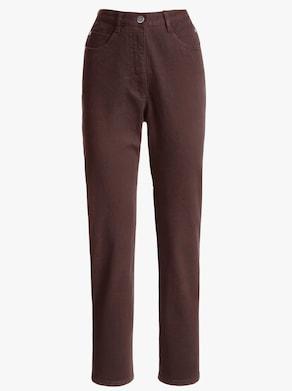 Jeans - chokladbrun
