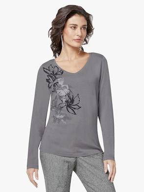 Shirt - grau-bedruckt