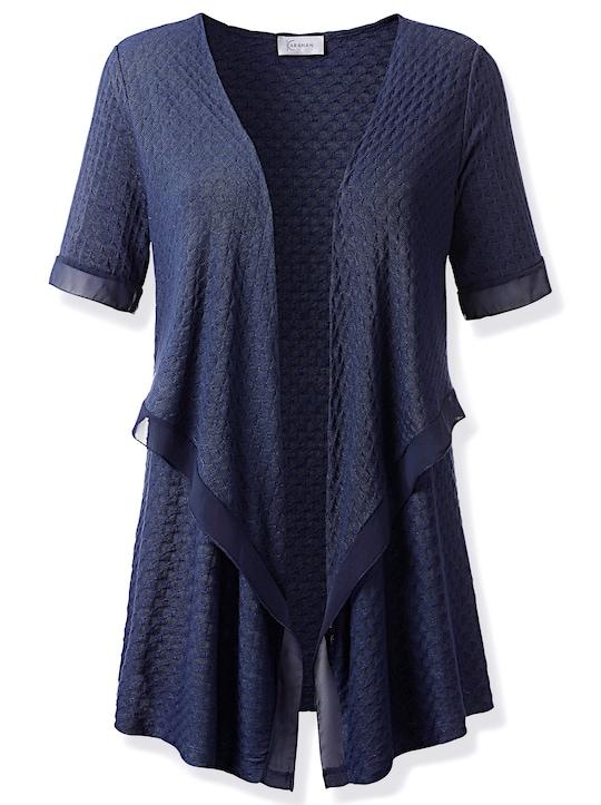 Fair Lady Shirtjacke - nachtblau