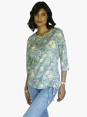 Shirt - kalkmint-bedruckt