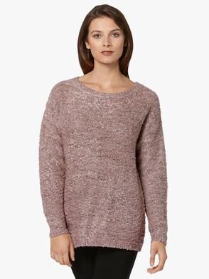 Pullover - roze gemêleerd