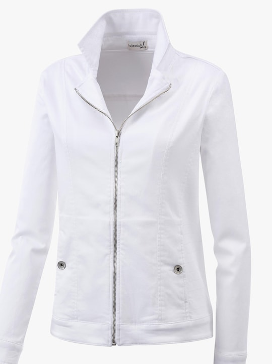 Collection L Blazer - weiß