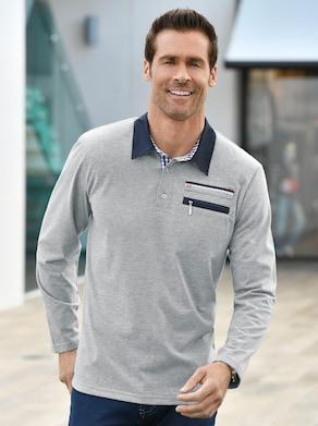 Catamaran Sports Langarm-Shirt - hellgrau-meliert