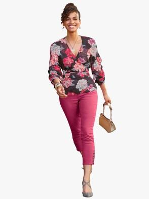 7/8 kalhoty - pink